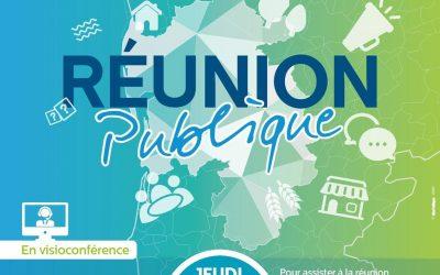 RÉUNION PUBLIQUE PLUI DU 10 DÉCEMBRE 2020