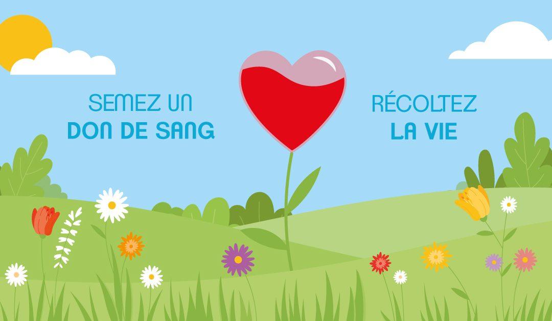 Don du Sang Vendredi 16/4 à Coutances